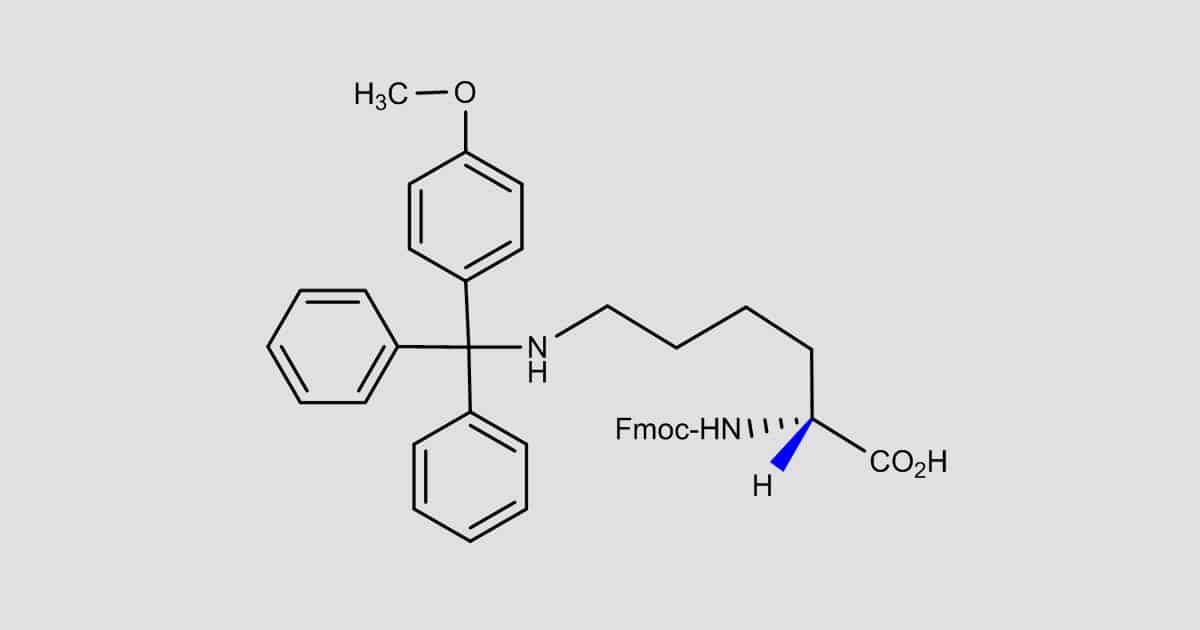 Fmoc-D-Lys(Mmt)-OH