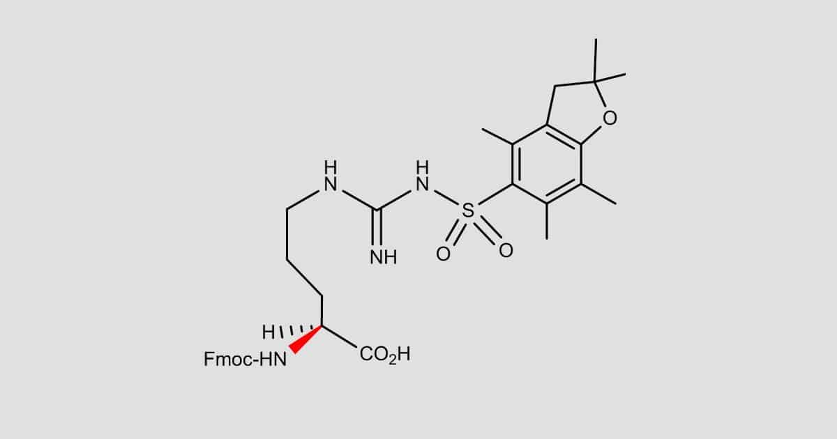 Fmoc-Arg(Pbf)-OH-new