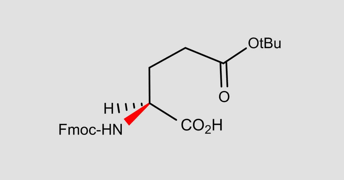 Fmoc-Glu(OtBu)-OH.H2O