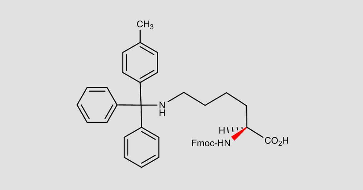 Fmoc-Lys(Mtt)-OH