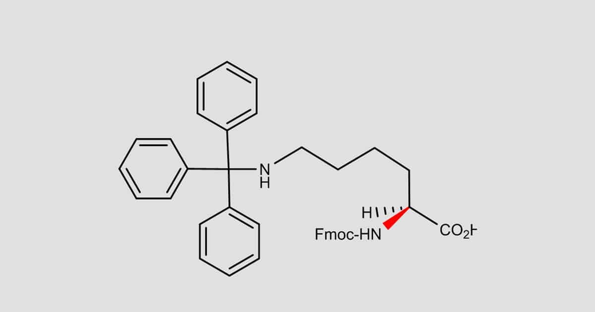 Fmoc-Lys(Trt)-OH