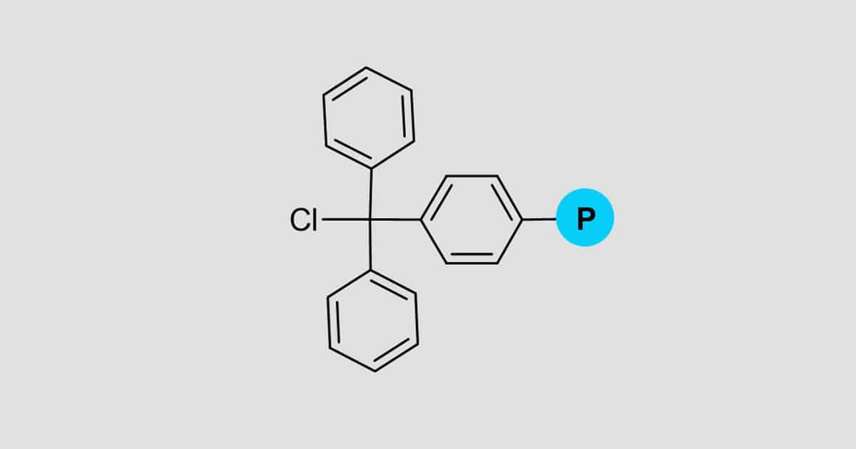 Trityl chloride resin 200-400 mesh